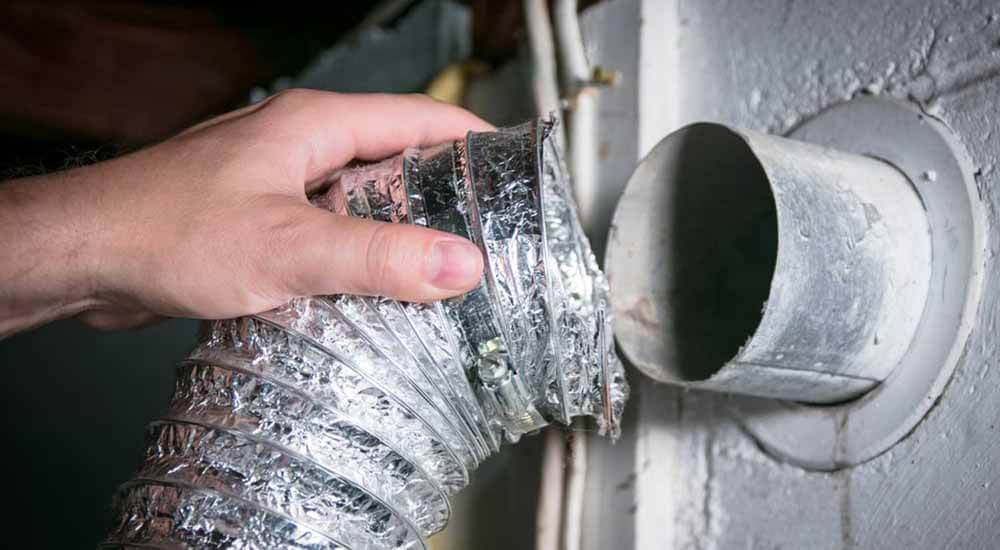 how to clean dryer vent from inside