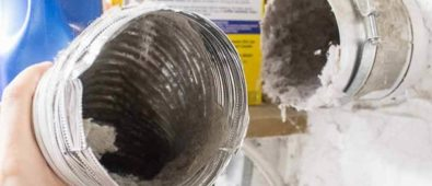 how to clean dryer vents